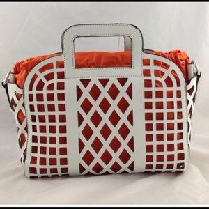 Premium, cage style handbag.